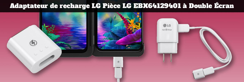 LG EBX64129401 Dual Screen Charging Adapter