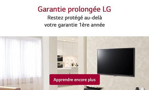 "PROGRAMME GARANTIE PROLONGÉE- PLAN SERVICE PLATINE (""PSP"")"